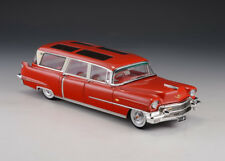 GLM 1:43  1956 CADILLAC S&S BROADMOOR SKYVIEW   Red..mint n boxed!
