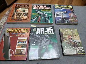 Gunsmithing Books Rifles Handguns Accuracy Shooting Sports