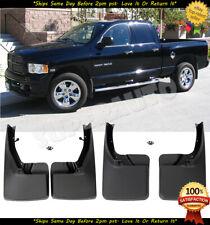 For 2009-18 Dodge Ram 1500 2500 3500 4pcs Mud Flaps Splash Guards Front&Rear