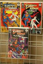 Superman Madman Hullabaloo #1-3 Complete Comic Series