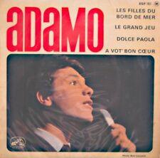 ++ADAMO les filles du bord de mer/le grand jeu/dolce paola EP VG++