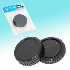 Camera Body + Rear Lens Cap Cover Set for Olympus Four Thirds DLSR E-30 E-620 E5