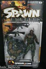 Spawn 17. al Simmons. Classic caratteri McFarlane Toys spawn.com NUOVO! RARO!