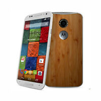 Motorola Moto X XT1097 Unlocked Quadband Smartphone White Bamboo 13MP Phone FRB