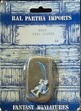 RAL PARTHA 25mm figure: Evil Cleric, #FA22; new in Mint cond in