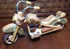 Hand made wooden  Harley Davidson 1948 model