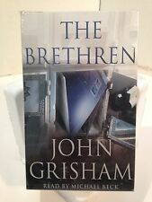 "JOHN GRISHAM ""THE BRETHREN"" - SET OF 4 CASSETTES - 6 HOURS"