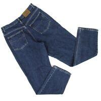Vintage Guess American Tradition Tapered Leg Jeans Sz 33 (32 x 32) Dark Denim