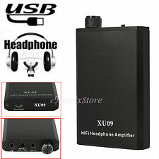 Portable Digital Music HIFI Headphone Amplifier USB Rechargeable 3.5MM studio