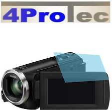 4x Difficile rivestito Pellicole protezione display AR per Panasonic HC-V180