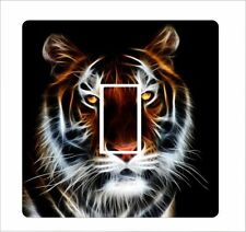 Tiger artwork - Light Switch Sticker vinyl cover skin decal