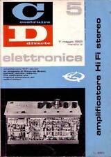 COSTRUIRE DIVERTE ELETTRONICA n.5 del 1 maggio 1965   amplificatore HI FI stereo