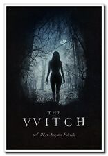 "24""x16"" The Witch A New England Folktale Silk Poster Horror Movie Wall Art Print"