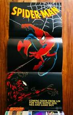 Spider-man Nintendo Power Poster Authentic New in Felix the Cat Volume 40