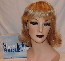 Raquel Welch Sheer Indulgence Wig RW Memory Cap Blonde Shag Bob Straight
