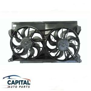 Radiator Thermo Twin Dual Fans Assembly for Ford Falcon EL/XH 4.0/5.0L 1996-1998