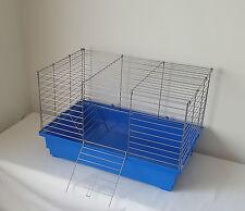 Rat Cage Degu Guinea Pig Hutch 60cm Indoor Steel Chinchilla Ferret Rabbit Blue