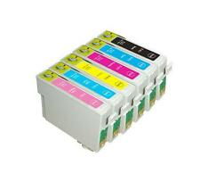 18x Generic 82N T0821-T0826 ink cartridges for Epson TX710,TX800,RX590,RX610,T50