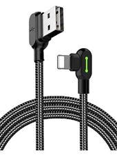Mcdodo Angle Droit Câble USB avec LED de Charge à 90 degrés  50 cm 1.6ft