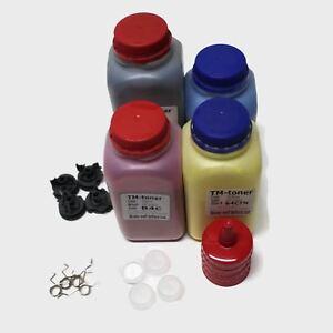 4 toner refill kit w gears & plugs for MFC-L8600CDW MFC-L8850CDW MFC-L9550CDW