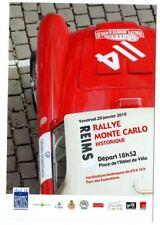 Carte postale Rallye Monté Carlo Historique 2010 départ de Reims Austin Healey