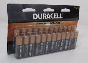 Duracell Coppertop AA Alkaline Batteries, Pack Of 24