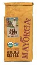 Mayorga Organics Cafe Cubano Dark Roast, 2 Pound, Whole Bean Coffee