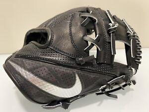 Nike BSBL Hyperfuse Elite Pro MVP 11.5 RHT Black Baseball Glove PBF311 010 I Web