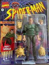 "Marvel Legends Retro Collection Spider-Man Series Sandman 6"" Figure In Stock🚚💨"