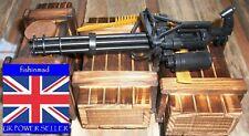 1:6 MINIATURE COLLECTORS M134 MINIGUN ELECTRICALLY DRIVEN GATLING GUN MODEL KIT