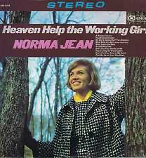 Norma Jean – Heaven Help The Working Girl – CAS-2218 – LP Vinyl Record