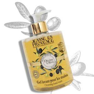 Jeanne En Provence DIVINE OLIVE LIQUID SOAP 95% Natural Ingredient 500ML