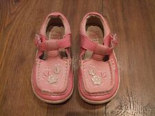 baby pink clarks first shoes 5F 5 F GIRLS Summer Floral