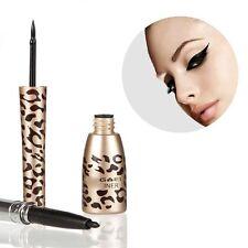 Makeup Waterproof Leopard Shell Liquid Black Eye Liner Eyeliner Pen Cosmetic NEW