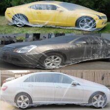 2X Clear Plastic Temporary Universal Disposable Car Cover Judge W30 GSX SS 44 AZ