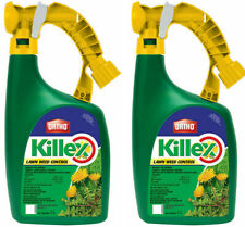 LOT OF 2 Ortho KILLEX Lawn Weed Killer Concentrate, 1L Ready-to-Spray Herbicide