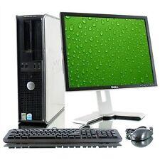 Fast Dell Optiplex Desktop PC Windows 7 Pro PC+Keyboard+Mouse+Monitor+Wi-Fi