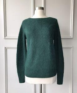   COUNTRY ROAD   fine alpaca knit bottle green   NEW   $179   SIZE: XXS  