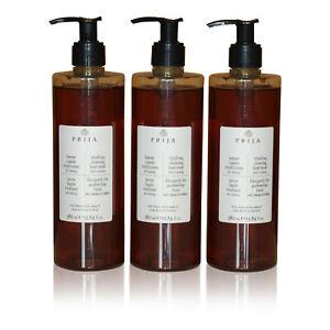 Prija Flüssigseife mit Ginseng 3 x 380 ml im PET Flakon Soap Wellness Kosmetik