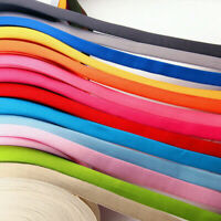 10M Satin Elastic Flat Spandex Band Sewing Trims Craft Sew Decor Supplies