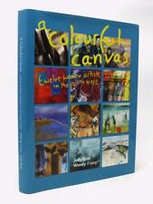 Colourful Canvas SIGNED by 12 women artists in the NORTH EAST Ghislaine Howard
