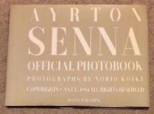 Ayrton Senna Official Photography Book Norio Koike 1994 Honda Mclaren Lotus F1