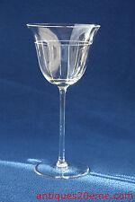 Verre à eau en cristal de Saint Louis pour Hermès, collection Ibis