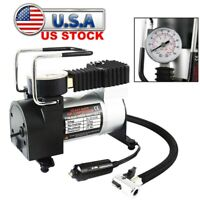 Heavy Duty 12V Car Auto Tire Inflator Pump Air Compressor RV Truck 4X4 Universal