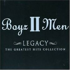 "BOYZ II MEN ""LEGACY: THE GREATEST HITS COLLECTION"" CD"