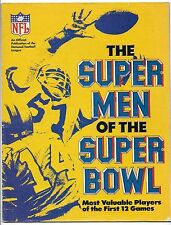 1978 Super Men of the Super Bowl-Most Valuable Players of the First 12 Games!
