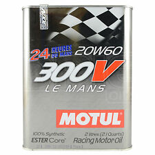 Motul 300V Le Mans 20W-60 Racing Engine Oil - 2 Litres