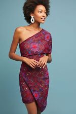 Anthropologie Cosmic One Shoulder Dress by Ellieatt-XL-$240 MSRP