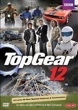 TOP GEAR UK Season 12 2008: Jeremy Clarkson BBC TV Season Series - NEW R1 DVD