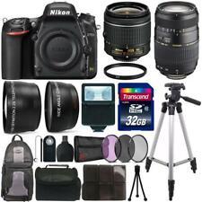 Nikon D750 24.3MP DSLR Camera No Wifi+ 18-55mm + Tamron 70-300mm Lens Bundle